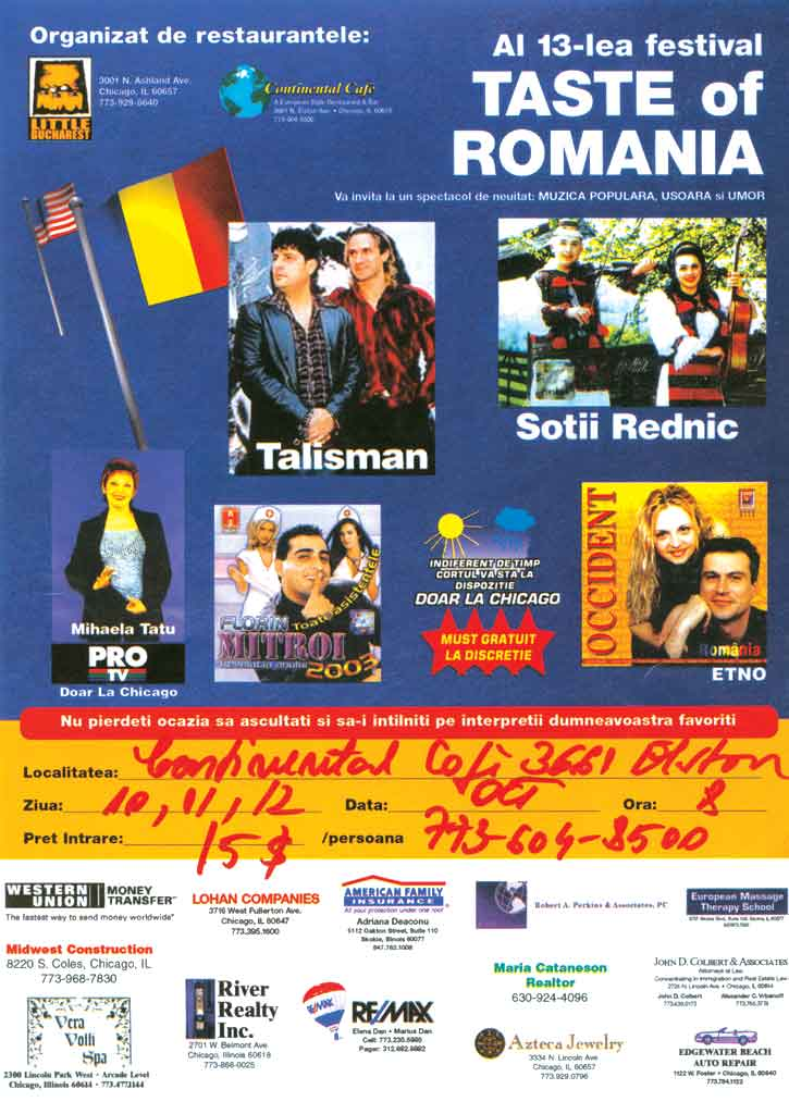 34_taste_of_romania_10-13_octombrie_2003